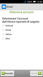 Alcatel Pop C7 - E-mail - configurazione manuale - Fase 11