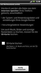 HTC Z710e Sensation - Fehlerbehebung - Handy zurücksetzen - Schritt 8