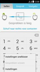 Huawei Y625 - Voicemail - handmatig instellen - Stap 5