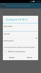 Bouygues Telecom Bs 471 - Internet et connexion - Partager votre connexion en Wi-Fi - Étape 8