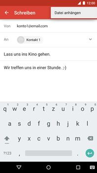 Motorola Google Nexus 6 - E-Mail - E-Mail versenden - Schritt 10