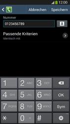 Samsung Galaxy S4 Active - Anrufe - Anrufe blockieren - 12 / 14