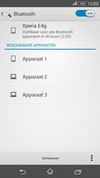 Sony E2003 Xperia E4G - bluetooth - aanzetten - stap 7
