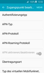 Samsung J120 Galaxy J1 (2016) - MMS - Manuelle Konfiguration - Schritt 14