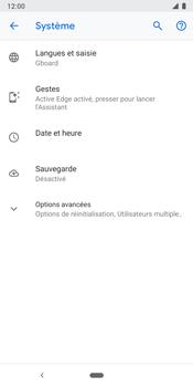 Google Pixel 3 - Aller plus loin - Restaurer les paramètres d'usines - Étape 5