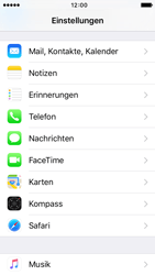 Apple iPhone 5s iOS 9 - E-Mail - Manuelle Konfiguration - Schritt 3