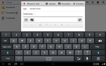 Samsung P5100 Galaxy Tab 2 10-1 - E-mail - Hoe te versturen - Stap 8