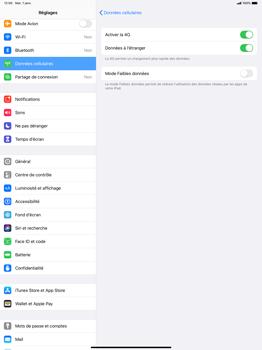 Apple iPad Pro 12.9 (2nd gen) - iPadOS 13 - Internet et roaming de données - Désactivation du roaming de données - Étape 5