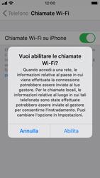 Apple iPhone SE - iOS 13 - WiFi - Attivare WiFi Calling - Fase 7