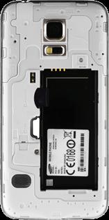 Samsung G800F Galaxy S5 Mini - SIM-Karte - Einlegen - Schritt 4