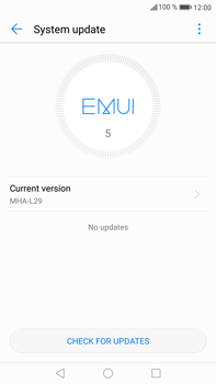 Huawei Mate 9 - Software - Installing software updates - Step 6