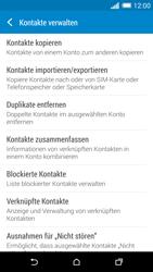 HTC One Mini 2 - Anrufe - Anrufe blockieren - Schritt 7