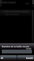 Nokia 5800 Xpress Music - Messagerie vocale - configuration manuelle - Étape 8