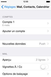 Apple iPhone 4S (iOS 8) - E-mails - Ajouter ou modifier un compte e-mail - Étape 16