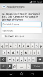 Sony D2203 Xperia E3 - E-Mail - Konto einrichten - Schritt 5
