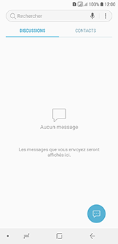 Samsung Galaxy A6 - Contact, Appels, SMS/MMS - Envoyer un SMS - Étape 4