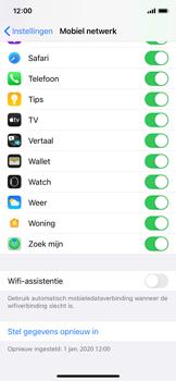Apple iPhone 12 mini - wifi - schakel Wi-Fi Assistentie uit - stap 6