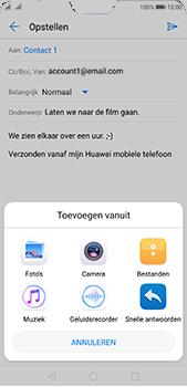 Huawei P20 Pro - E-mail - E-mails verzenden - Stap 10