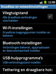 Samsung S5300 Galaxy Pocket - bluetooth - aanzetten - stap 5