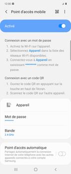 Samsung Galaxy Z flip - WiFi - Comment activer un point d'accès WiFi - Étape 12