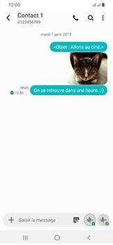 Samsung Galaxy A40 - MMS - envoi d'images - Étape 22