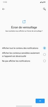 OnePlus 7T - Sécuriser votre mobile - Activer le code de verrouillage - Étape 11
