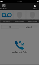 BlackBerry Z10 - Voicemail - Manual configuration - Step 4