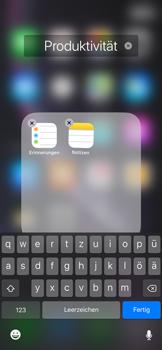 Apple iPhone XR - Startanleitung - Personalisieren der Startseite - Schritt 7