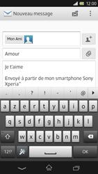 Sony Xpéria Z - E-mails - Envoyer un e-mail - Étape 10