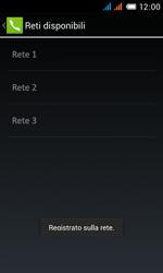 Alcatel One Touch Pop C3 - Rete - Selezione manuale della rete - Fase 15