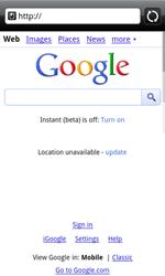HTC A7272 Desire Z - Internet - Internet browsing - Step 4