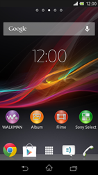 Sony Xperia L - Software - Update - Schritt 1