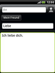 HTC A3333 Wildfire - E-Mail - E-Mail versenden - Schritt 10