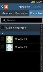 Samsung S7275 Galaxy Ace III - Contactgegevens overzetten - delen via Bluetooth - Stap 6