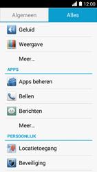 Huawei Ascend Y530 - Voicemail - Handmatig instellen - Stap 3