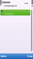 Nokia C6-00 - internet - handmatig instellen - stap 11