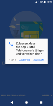 Sony Xperia XZ2 - E-Mail - Konto einrichten (outlook) - 13 / 19