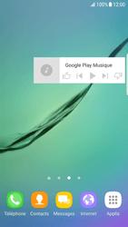 Samsung Galaxy S6 Edge - Android Nougat - Prise en main - Installation de widgets et d