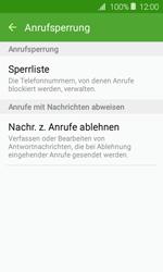 Samsung J120 Galaxy J1 (2016) - Anrufe - Anrufe blockieren - Schritt 7