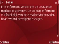 Nokia E63 - E-mail - Handmatig instellen - Stap 8