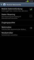Samsung Galaxy Note II - Internet und Datenroaming - Deaktivieren von Datenroaming - Schritt 7