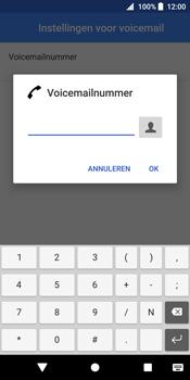 Sony Xperia XZ2 - Voicemail - Handmatig instellen - Stap 10