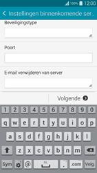 Samsung G901F Galaxy S5 Plus - E-mail - handmatig instellen - Stap 10