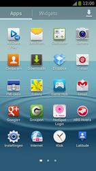 Samsung I9300 Galaxy S III - Contacten en data - Contacten kopiëren van SIM naar toestel - Stap 3