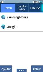Samsung S5250 Wave 525 - Internet - navigation sur Internet - Étape 8