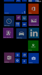 Nokia Lumia 1320 - Getting started - Personalising your Start screen - Step 12