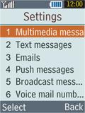 Samsung B2100 Xplorer - MMS - Manual configuration - Step 5