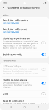 Samsung Galaxy A51 5G - Photos, vidéos, musique - Créer une vidéo - Étape 9