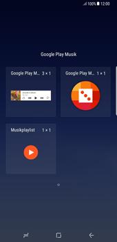 Samsung Galaxy Note 8 - Startanleitung - Installieren von Widgets und Apps auf der Startseite - Schritt 5