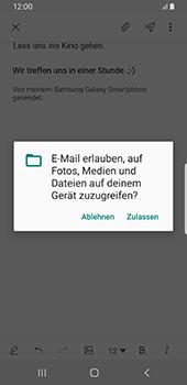 Samsung Galaxy S9 - E-Mail - E-Mail versenden - 14 / 22